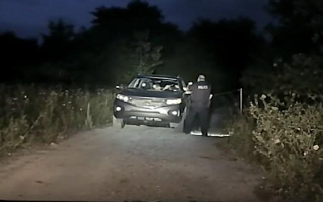 #Video Policía de EE.UU. abate a sujeto que era buscado por la justicia - Foto de captura de pantalla