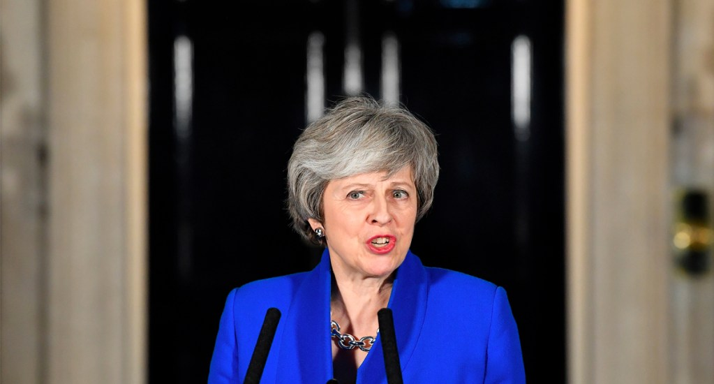 "Theresa May no irá a Davos para centrase en el ""brexit"" - Theresa May. Foto de AFP"