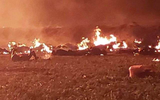 AMLO cancela gira por León y Jalisco tras explosión de ducto en Hidalgo - tlahuelilpan muerto explosión