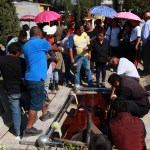 Sepultan a cinco víctimas de la explosión en Tlahuelilpan - Foto de Notimex