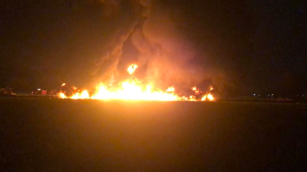 Explosión en ducto de Tlahuelilpan, Hidalgo deja al menos 21 muertos y 71 heridos - Foto de López-Dóriga Digital