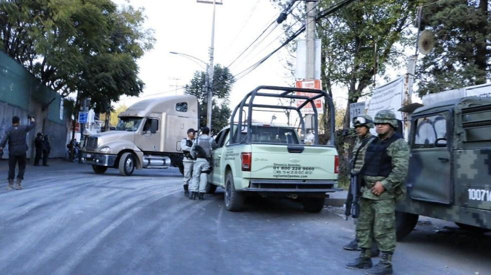 Aseguran toma clandestina en bodega de Azcapotzalco en la Ciudad de México - Foto de Twitter Claudia Sheinbaum