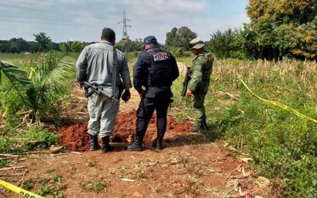 Hallan cuatro tomas clandestinas de combustible en Veracruz - Foto de @SP_Veracruz