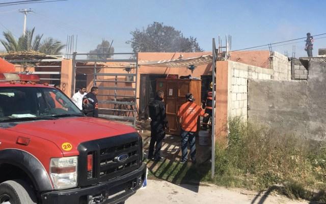 Incendio moviliza a tres estaciones de bomberos en Torreón - Foto de El Siglo de Torreón