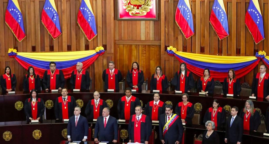 Tribunal Supremo de Justicia de Venezuela expresa apoyo a Maduro - Foto de Internet