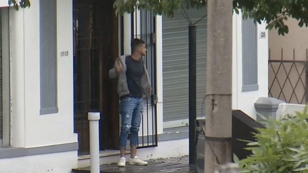 #Video Hombre toma rehenes en estética de Uruguay - Foto de Twitter