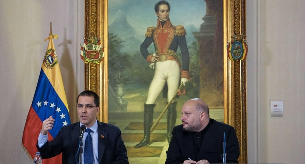 México y Uruguay ayudarán a resolver problemas de Venezuela ante la ONU: Arreaza - Foto de Cancillería Venezuela