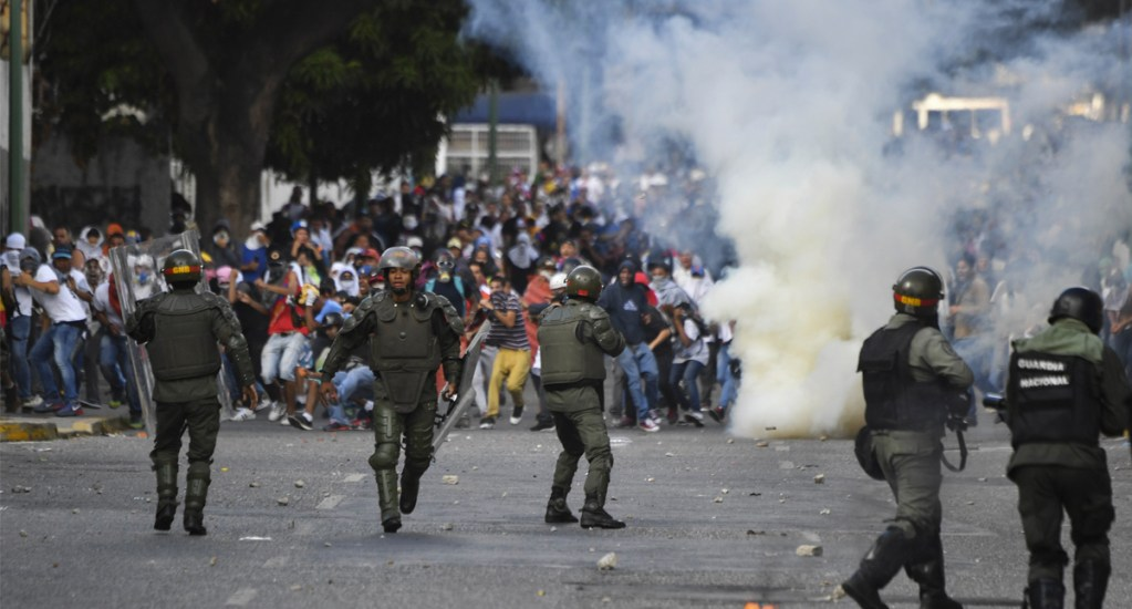 ONU pide investigación sobre incidentes en Venezuela - Protestas en Venezuela. Foto de AFP