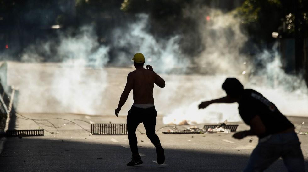 Bloquean acceso a redes sociales en Venezuela - Protestas en Venezuela. Foto de Federico Parra/AFP
