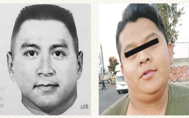 Vinculan a proceso a presunto violador de Coyoacán - Retrato hablado y día de la captura del presunto violador serial. Foto de ContraRéplica