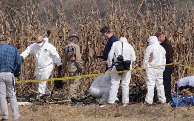 Emiten primer informe sobre accidente aéreo en Puebla - primer informe de accidente aéreo en puebla