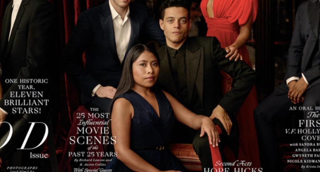 Yalitza Aparicio aparece en la portada de Vanity Fair - Foto de Vanity Fair