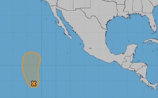 Zona de baja presión podría volverse tormenta tropical en el Pacífico - Zona de baja presión en el Océano Pacífico. Foto de NOAA