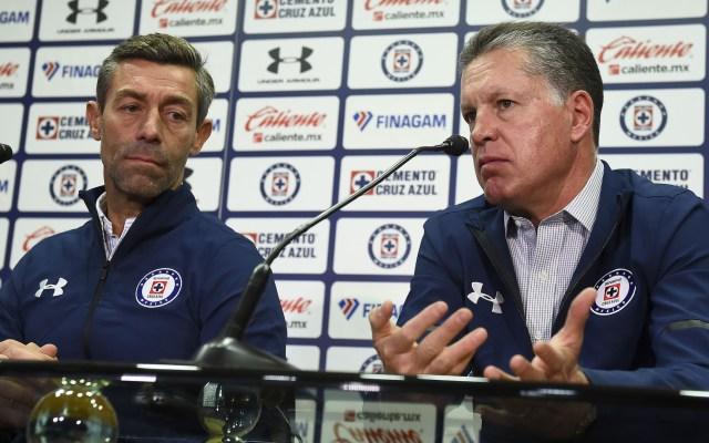 Asumo la responsabilidad de mal momento de Cruz Azul: Peláez - peláez responsabilidad mal paso cruz azul