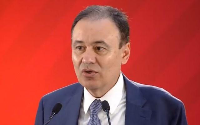 Pacificación del país desplegará a 600 agentes por región - Alfonso Durazo. Captura de pantalla