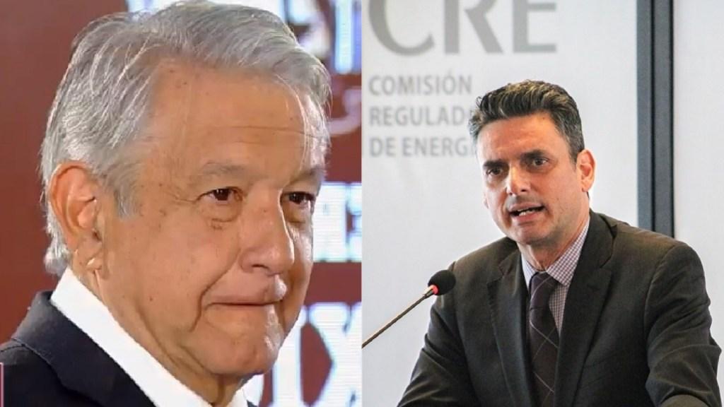 No quiero la renuncia del presidente de la CRE: López Obrador - AMLO - Guillermo García Alcocer. Foto de LDD / Notimex