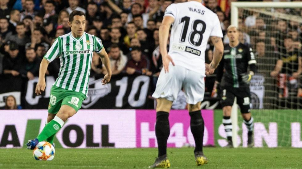 Betis de Guardado y Lainez se despide de la Copa del Rey - Foto de Real Betis