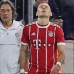 Robben cuestiona su futuro futbolístico por problemas físicos - robben desconoce el origen de sus problemas físicos