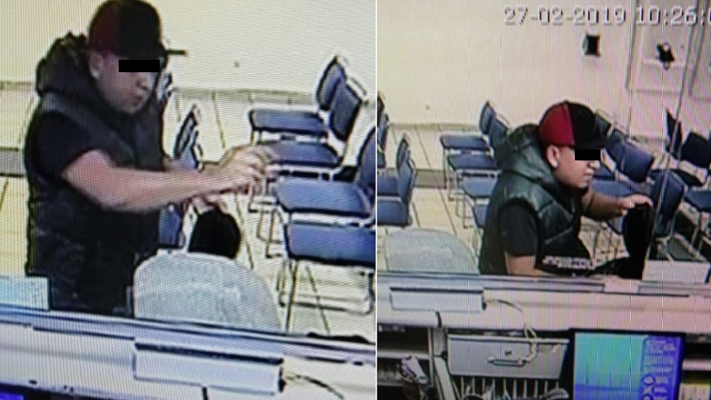 Roban 20 mil pesos en efectivo en asalto a banco en Coyoacán - Asalto a Citibanamex de Coyoacán. Foto de @MojicaAg