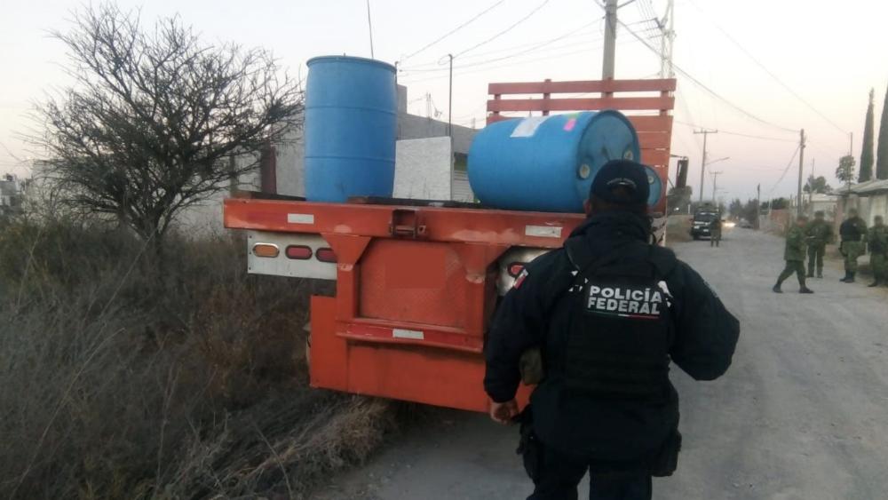 Localizan tomas clandestinas y aseguran hidrocarburo en Tamaulipas - Foto ilustrativa de Policía Federal