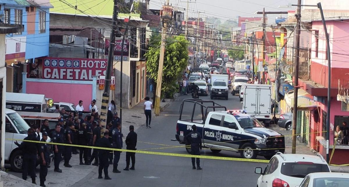 Mara salvatrucha mata a dos policías en Tapachula, Chiapas
