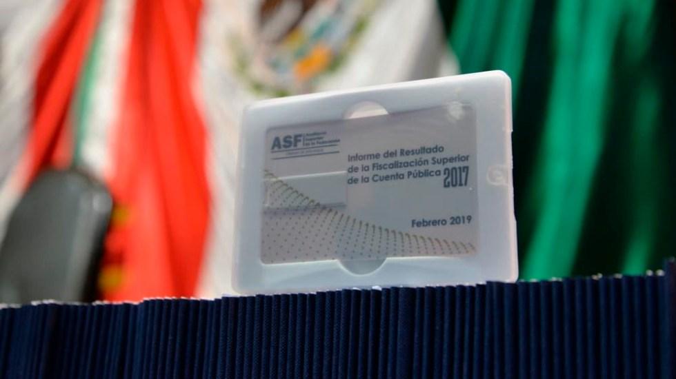 Suman más de 68 mil mdp por aclarar en Cuenta Pública del 2017 - Foto de @ASF_Mexico