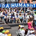 Guaidó convoca a manifestaciones por ayuda humanitaria en Venezuela - Foto de AFP