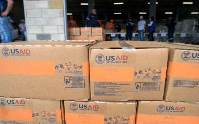 EE.UU. sanciona a seis funcionarios de Venezuela por obstruir ayuda - Foto de AFP