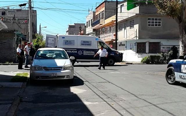Balacera deja un muerto y tres heridos en Nezahualcóyotl - Foto de @luismiguelbaraa