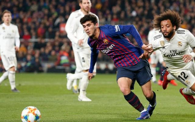 Barcelona y Real Madrid empatan en ida de la Copa del Rey - Barcelona recibió al Real Madrid