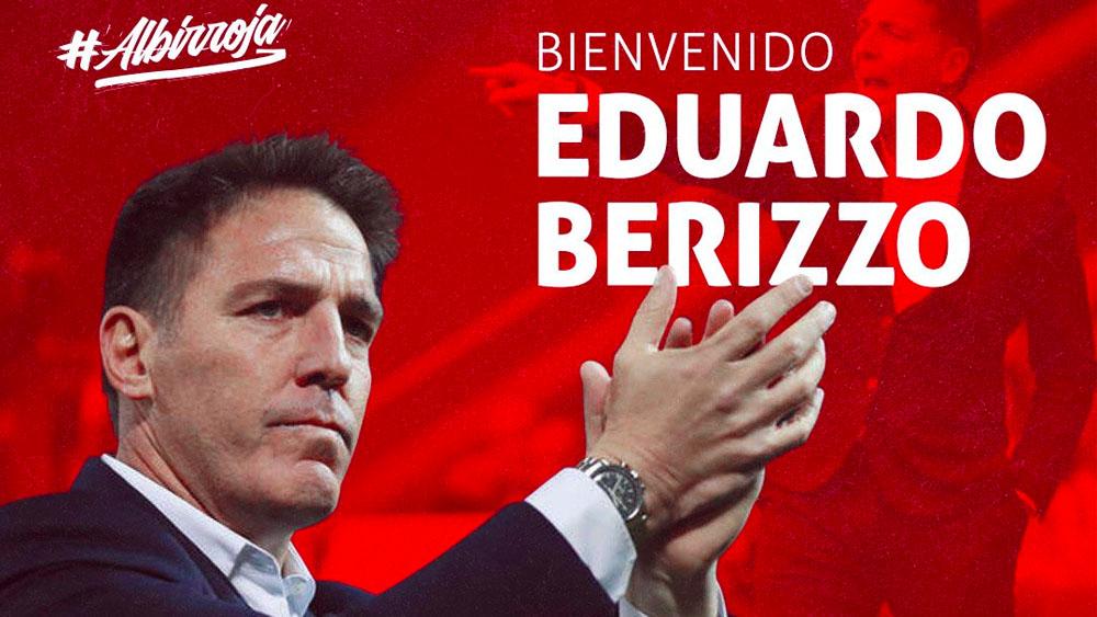 Eduardo Berizzo es nuevo técnico de Paraguay