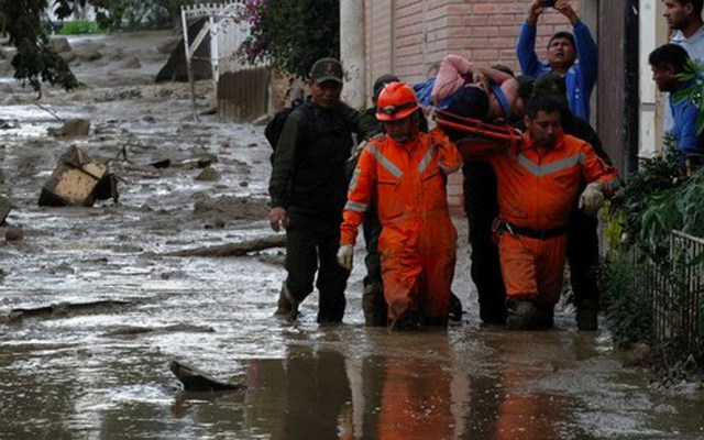 Bolivia declara emergencia nacional por lluvias, hay al menos 25 muertos - Foto de Twitter