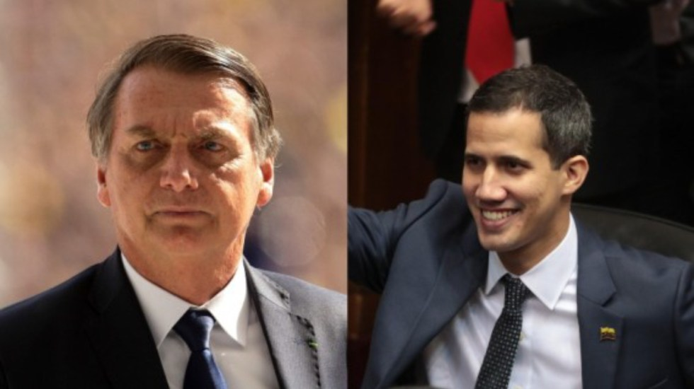 Guaidó será recibido en Brasilia por Jair Bolsonaro - Juan Guaidó será recibido en Brasilia por Jair Bolsonaro