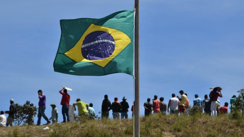 Brasil descarta cualquier 'solución militar' en Venezuela - Frontera de Brasil con Venezuela. Foto de AFP / Nelson Almeida