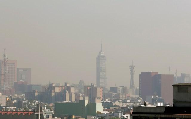 Se registra mala calidad del aire en el Valle de México - El Valle de México con mala calidad del aire