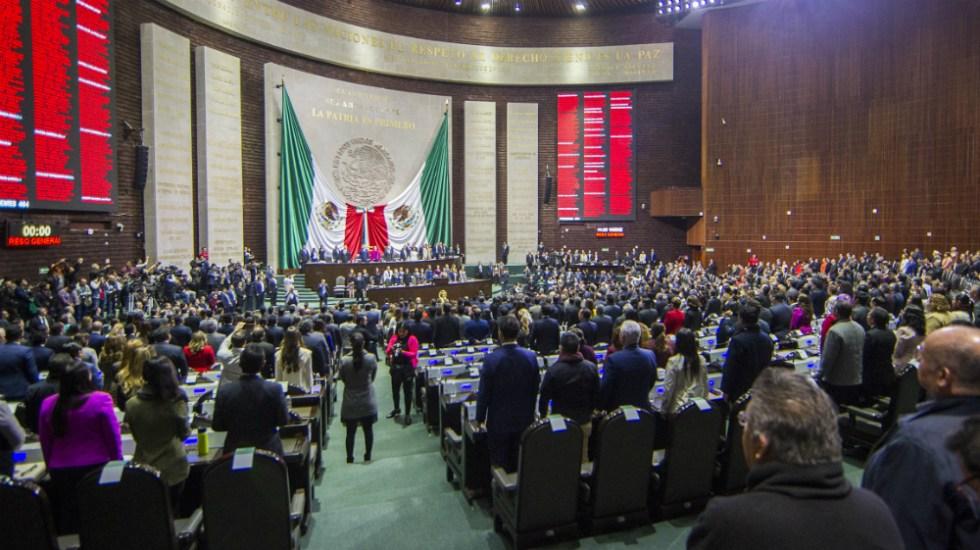 Recibe la Cámara de Diputados proyecto de Guardia Nacional con mando civil - Foto de Notimex