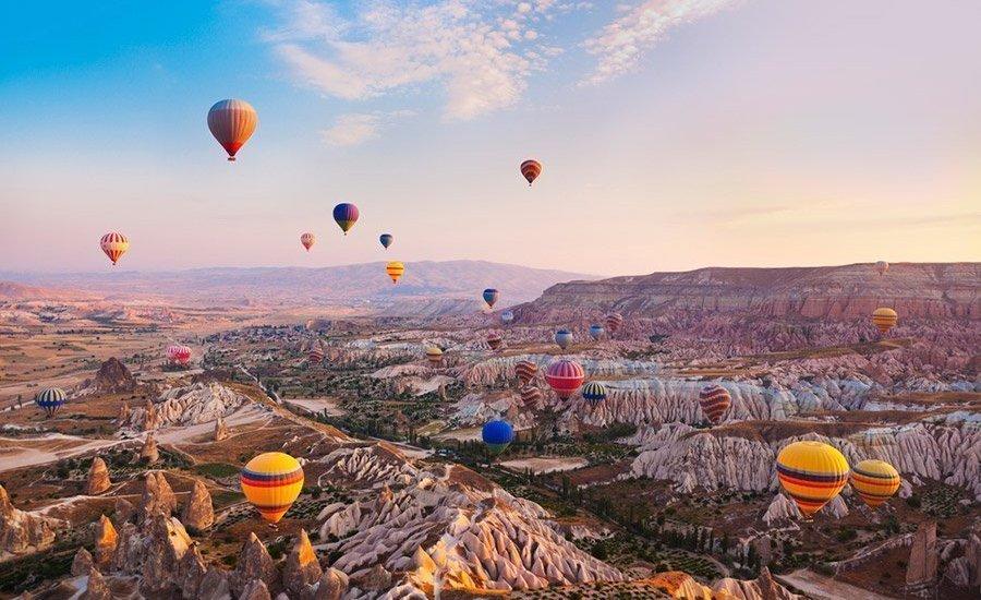 Capadocia, el paraíso de los globos aerostáticos - Foto: civitatis.com