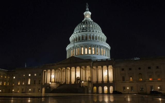 Senado de EE.UU. aprueba acuerdo para evitar cierre del gobierno - Foto de AP