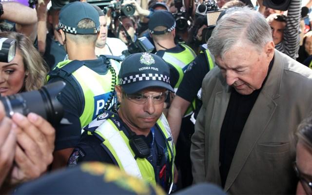 Cardenal GeorgePell separado de alto cargo del Vaticano por pederasta - Foto de AFP