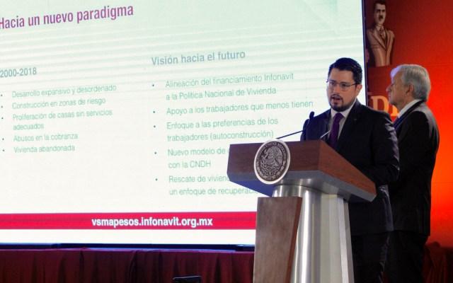Anuncian programa en favor de deudores del Infonavit - Carlos Martínez Velázquez durante conferencia matutina