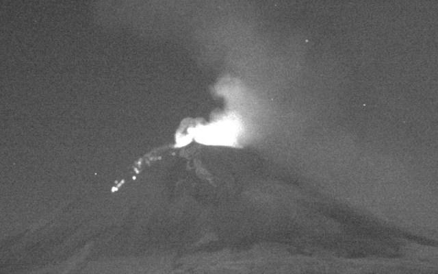 Prevén que ceniza del Popocatépetl afecte nueve municipios de Puebla - Foto de Cenapred