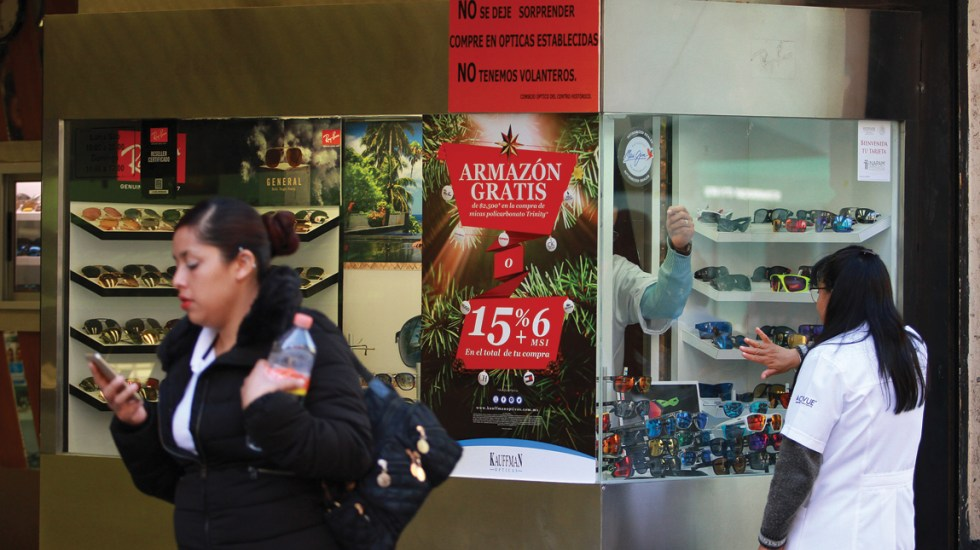 Consumo privado aumenta 2.1 por ciento anual en noviembre - Foto de Notimex