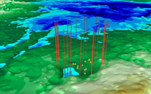 Hallan posible cráter por impacto de meteorito en Groenlandia - Foto de Nasa