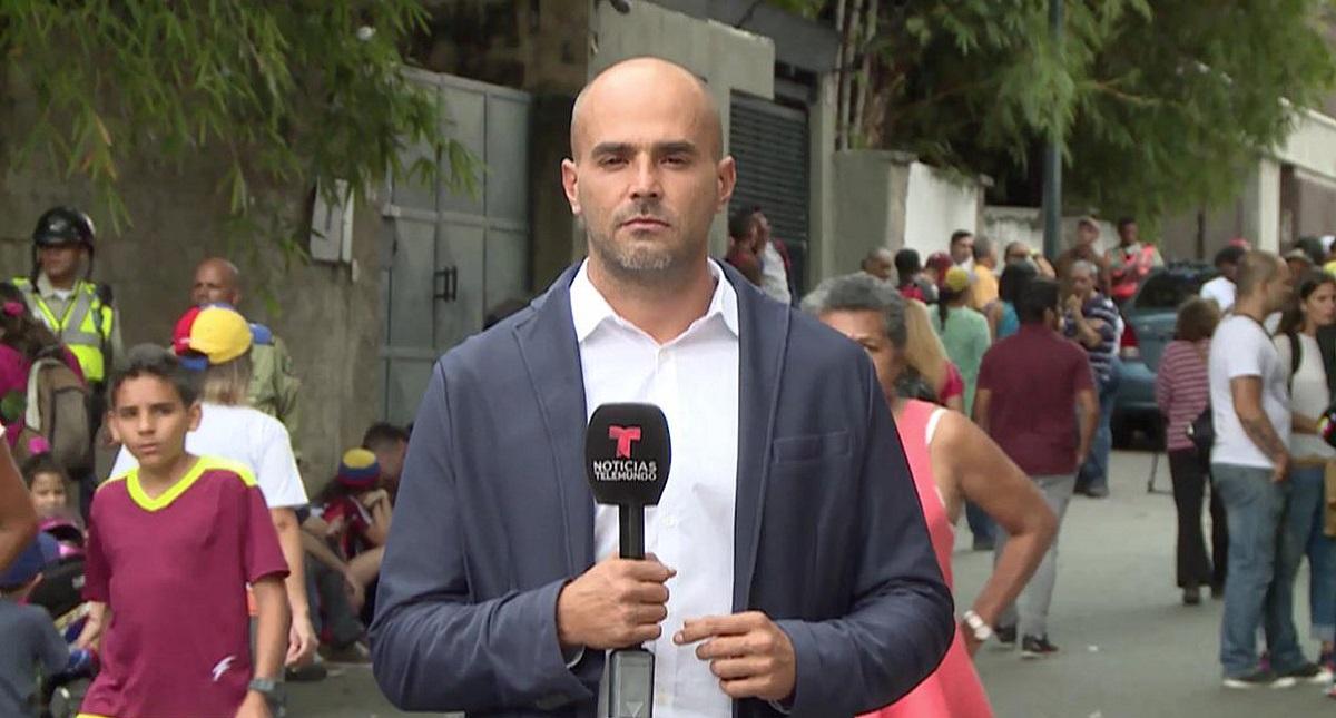 Secuestran a periodista de Telemundo; cubría retención de Jorge Ramos
