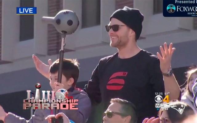 Patriotas celebran en calles de Boston tras Super Bowl