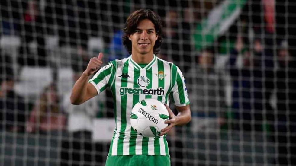 Lainez queda fuera de lista de jugadores más valiosos menores de 21 años - Diego Lainez podría debutar en la Europa League