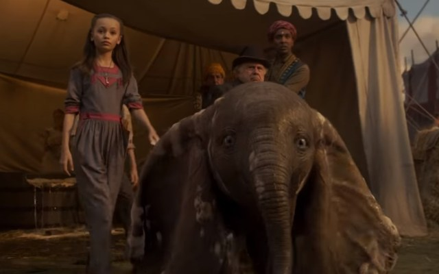 #Video Disney presenta último tráiler de Dumbo - Dumbo en acción real. Captura de pantalla
