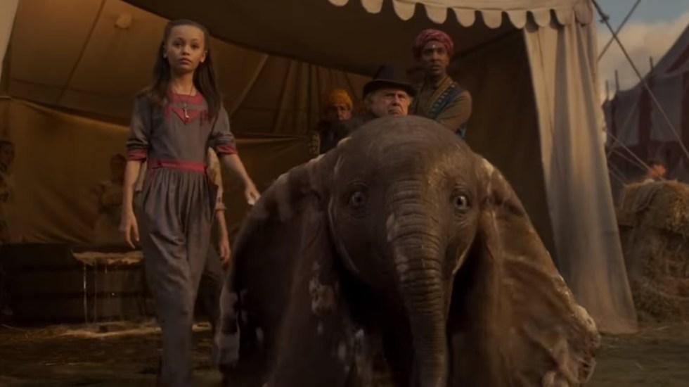 #Video Disney presenta último tráiler de Dumbo - Dumbo en acción real. Captura de pantalla