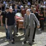 El último adiós al futbolista Emiliano Sala - Foto de AFP