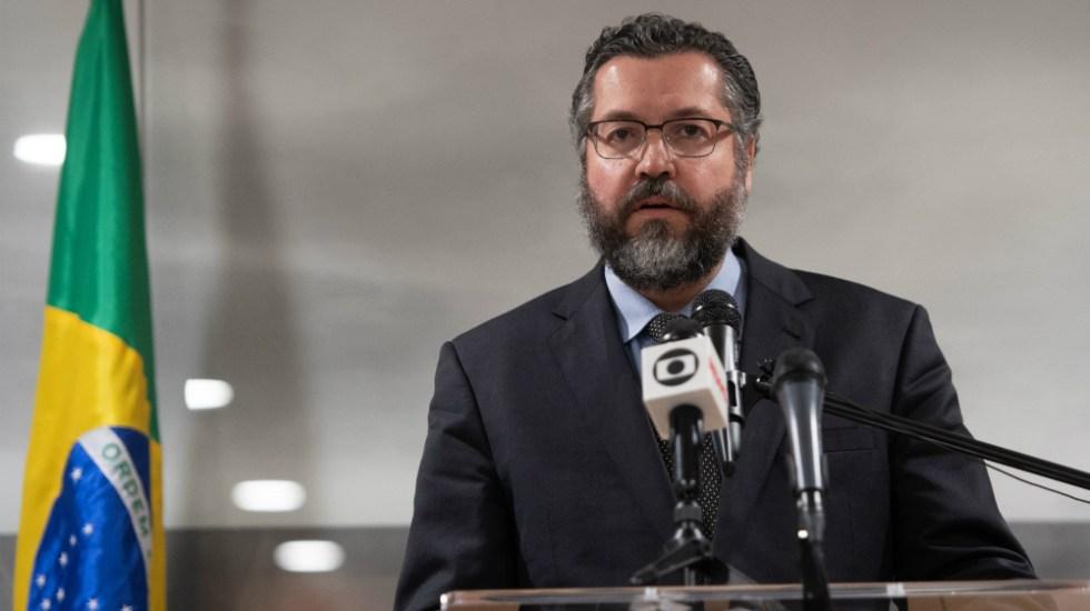 """Canciller de Brasil culpa a Cuba de """"mantener la dictadura de Maduro"""" - Foto de AFP"""